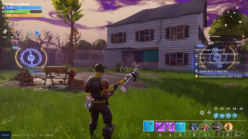 Fortnite Game Screen 1