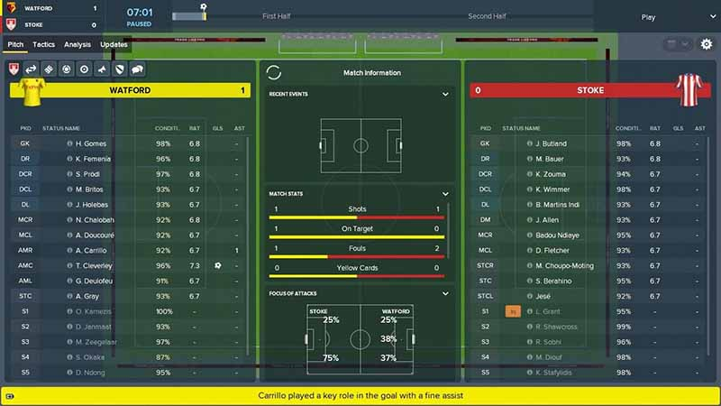 football manager 2019 screen 1